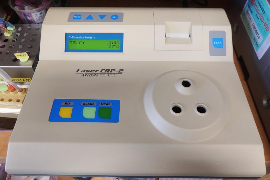 イヌCRP測定器:イヌにおける炎症マーカーを測定します。